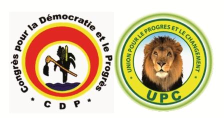 CDP / UPC : une démonstration de force et  de rivalité en gadgets de campagne électorale.