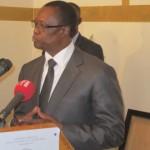 Soungalo Appolinaire OUATTARA,président de l'Assemblée nationale du Burkina Faso.
