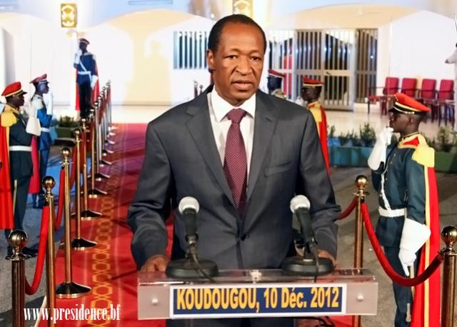 52è anniversaire de l'indépendance du Burkina:le message du Chef de l'Etat à la nation