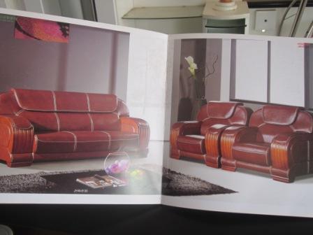 Des fauteuils de haute qualité en cuir.