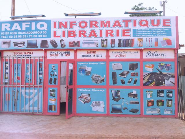 Du matériel et consommable informatiques de qualité chez RAFIQ VISION sarl à Ouagadougou