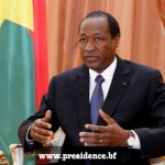 Blaise Compaoré,ex président du Faso.