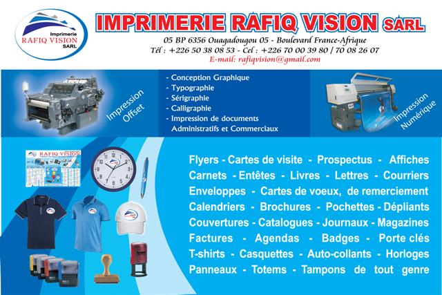 PAGE RAFIQ VISION 2013