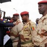 Soldats tchadiens au bercail