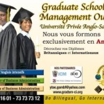 Graduate School of Management(GSM):une université anglo-saxonne bilingue à Ouagadougou