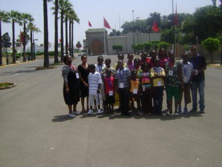 2.Colonie de vacances  au Maroc