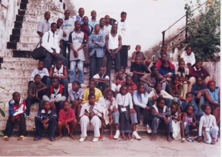 Colonie de vacances à Accra au Ghana