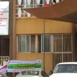 L'immeuble du Ministère de la Fonction Publique,du Travail et de la Sécurité Sociale à Ouagadougou.