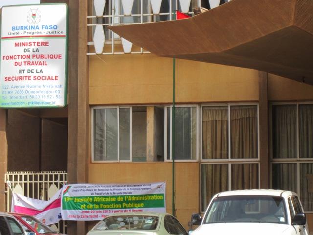 CONCOURS DIRECTS 2015 de la Fonction publique du Burkina: liste,nombre et lieux de dépôts des dossiers du 19 au 29 Mai