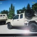 Un échantillon de véhicules blindés de l'armée burkinabè.(Photo d'archives)