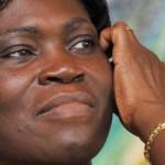 Simone Gbagbo, en 2009. AFP PHOTO/ SIA KAMBOU