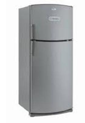 Un grand frigo moderne.