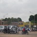 Une scène d'embouteillage au Rond-point des Nations-unies à Ouagadougou.
