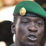 Amadou Sanogo,l'ex capitaine putschiste promu général le 14 A oût 2013 au Mali.