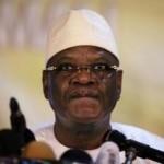 Le président malien Ibrahim Boubacar Keïta, le mercredi 21 août à Bamako. REUTERS/Joe Penney