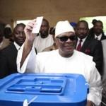 IBK,crédité de 77,61 % des suffrages au second tour de la présidentielle malienne selon les résultats provisoires publiés le 15 Août 2013.