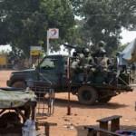 Une patrouille militaire burkinabè au Mali  pour le maintien de la paix .(image d'archives)