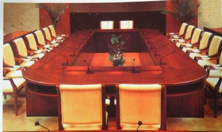 Des meubles de haute qualité à DAOUEGA Service pour l'équipement de vos salles de réunion et de conférence.