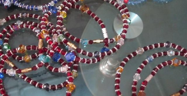 Vente de tissu bazin ,de colliers et bracelets à Ouagadougou