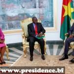 L'entretien entre le Président Blaise COMPAORE et M. DIAGANA a essentiellement porté sur l'économie, la gouvernance et le développement..