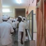 Des images des locaux rénovés des salles de soins de la maternité du CHU Yalgado Ouédraogo de Ouagadougou.