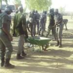 Des élèves policiers du Burkina. Image d'archives.