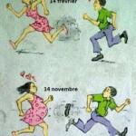 A la St Valentin,c'est l'homme qui court derrière la femme et la supplie quand celle-ci refuse.Et quand survient une grossesse,il se trouve des hommes pour fuir leurs responsabilités!