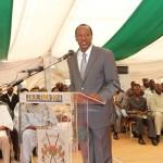Le Président du Faso face aux paysans à Fada pour des solutions pratiques aux progrès de l'agriculture burkinabè.