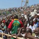 Le meeting de l'opposition le 31 Mai 2014 au stade du 4 Août de Ouagadougou.