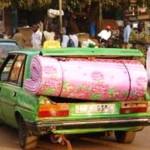 Pour le moment,les taxis qui fonctionnent avec du gaz butane à Ouaga,prennent des dispositions de prudence pour éviter des incendies.