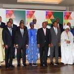Outre les dirigeants des 15 États membres, le sommet a connu la participation des représentants des Présidents du Cameroun, du Tchad, de l'Algérie et de la Mauritanie