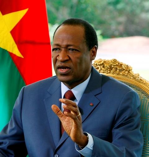 Blaise Compaoré, ancien président du Faso.