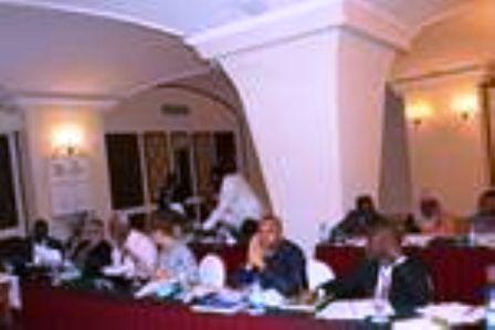 Des participants à la réunion le 31 juillet 2014 en Tanzanie.