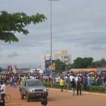 Arrêt sur image : la marche-meeting de l'opposition le 23 Août 2014 à Ouagadougou.