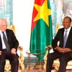 Saïd Djinnit a dit avoir collaboré avec le président du Faso dans sa médiation dans les crises en Afrique de l'Ouest. Aussi, dit-il, « ensemble, nous avons apporté notre contribution à la lutte contre le crime organisé et le trafic de drogue. Ce qui a permis de doter la CEDEAO d'un plan d'actions contre les deux fléaux… »