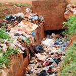 Les sachets plastiques bouchent les caniveaux et causent trop de nuisances à l'environnement ,à la santé humaine et animale Il faut donc les remplacer par d'autres types d'emballage et sacs non jetables après usage unique.