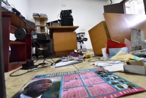 Côte d'Ivoire: le siège du FPI, parti de Laurent Gbagbo,saccagé