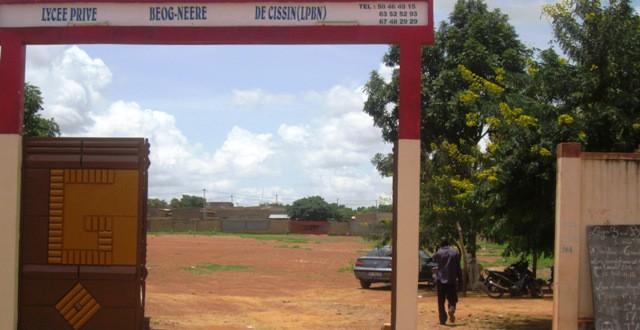 Lycée Privé BEOG-NEERE DE CISSIN à Ouagadougou :avis pour la rentrée scolaire 2014/2015