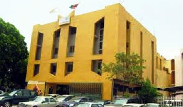 Le siège du Conseil constitutionnel à Ouagadougou à proximité de la Place de la Nation.
