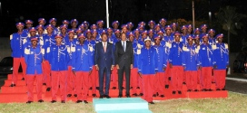 Académie militaire de Pô :passation de commandement le 20 novembre 2014