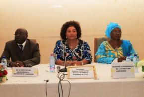Mutilations génitales féminines:Mme Chantal Compaoré magnifie « le rôle capital des encadreurs pédagogiques ».