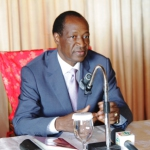 Blaise Compaoré ex président du Burkina détesté par certains citoyens et regretté par d'autres.