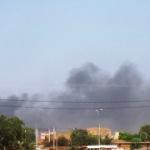 La ville de Ouagadougou dont le ciel fumait le 30 Octobre 2014 suite à l'insurrection populaire qui s'est poursuivie le 31 Octobre avec le départ du pouvoir du président Blaise Compaoré..