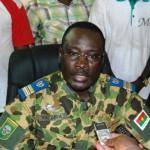 Lieutenant-colonel Yacouba Isaac ZIDA,ex- Chef d'Etat du Burkina Faso .