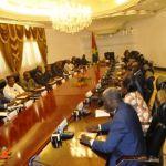 Le gouvernement ZIDA  I en conseil des ministres.