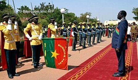 Le discours du président de la transition burkinabè ,Michel Kafando qui donne le ton de ses actions.