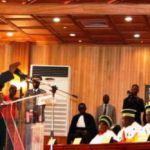 Après sa prestation de serment devant le Conseil constitutionnel,le président KAFANDO a livré son discours d'investiture le 18 novembre 2014 à OUAGADOUGOU.