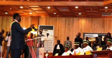 Discours d'investiture du président burkinabè de la transition,Michel KAFANDO