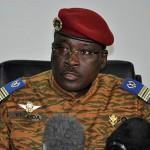 Général Yacouba Isaac ZIDA ,premier ministre de la transition et ancien chef d'Etat du Burkina Faso.