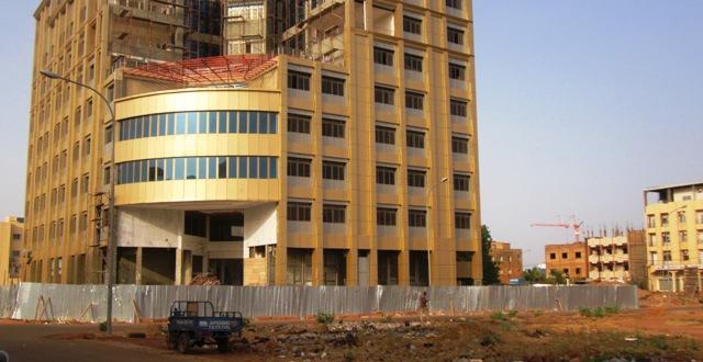 Arrêt sur image: le chantier du Grand-Hôtel de Ouagadougou